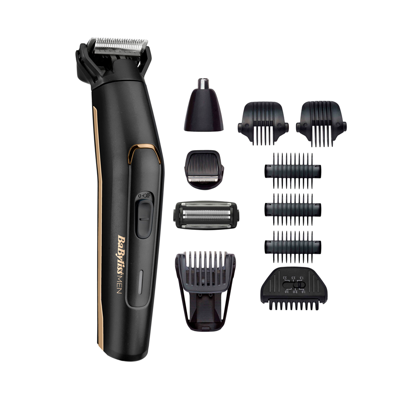 BaBylissMEN MultiGroom Carbon Titanium 11 in 1 - BaByliss