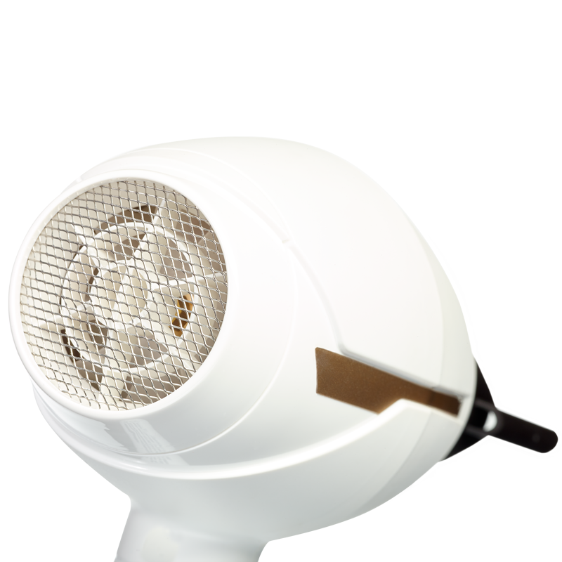 SECADOR AC LE PRO COMPACT INTENSE WHITE AND GOLD