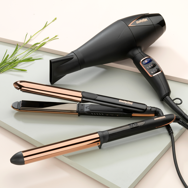 BaByliss Plancha Titatium Salon Brilliance